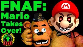Mario in FNAF?! | Ultimate Nintendo Night (Ultimate Custom Night Fan Game)