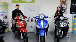 9. Piaggio liberty ijet 50 y 125 cc 2018