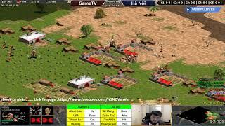 AOE | 4vs4 Random | GameTV vs Hà Nội | Ngày 1-11-2018 | BLV:G_Ver