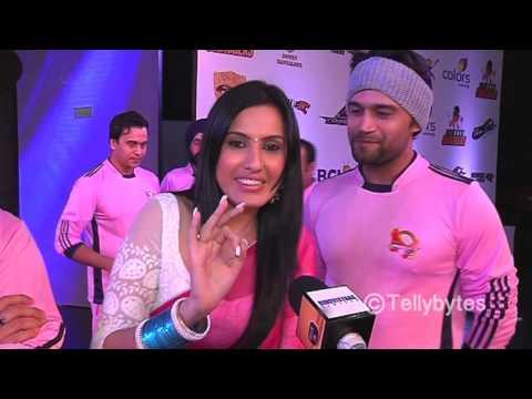 Kamya Punjabi with her team Jaipur Raj Joshiley