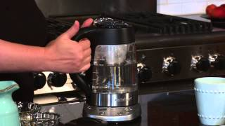 PerfecTemp® Programmable Tea Steeper & Kettle Demo Video Icon