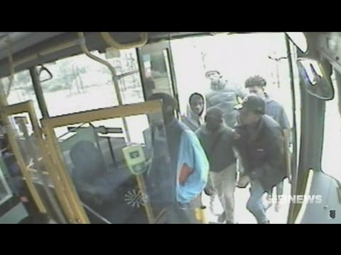 Seven + Nine News. Blacks Attack Autistic Boy On Bus. (Want Phone + Runners. Tarneit)