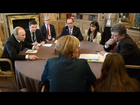 Переговоры в Минске завершились. Ожидаются заявления для прессы