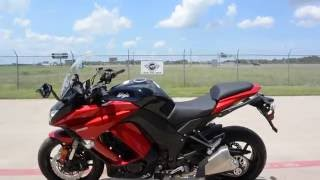 5. SALE $7,999:  2016 Kawasaki Ninja 1000 Candy Fire Red Overview and Review