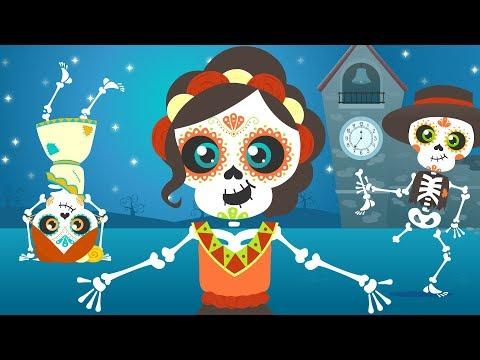 Los esqueletos   Chumbala Cachumbala   Las calaveras   Canción del Día de Muertos