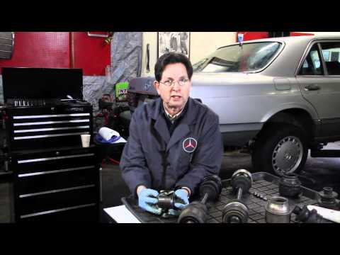 Rear Axle Shaft Inspection & Repair on a Mercedes Benz by Kent Bergsma