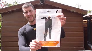Sub Sports Elite R+ recovery compression leggings review vs Skins travel recovery tights