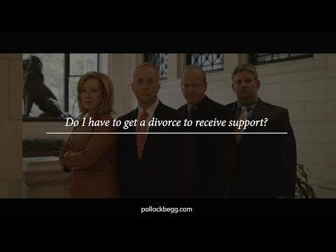 Do I Have to Get a Divorce to Receive Support? Video