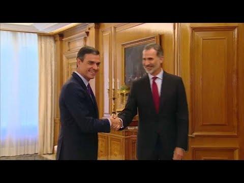 Εντολή σχηματισμού κυβέρνησης έλαβε ο Πέδρο Σάντσεθ