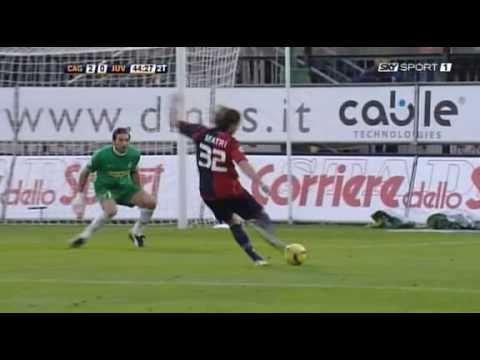 La dernière défaite de la Juventus à Cagliari