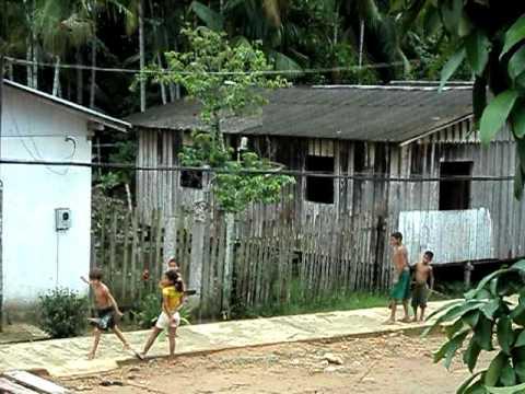 Dia das crianças em Maraã