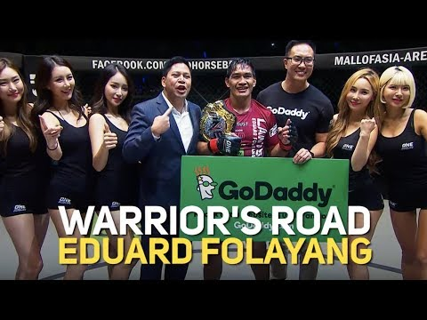 Eduard Folayang's 2018 Full Fights   ONE: Warrior's Road