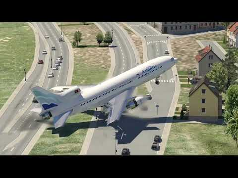 Worst Landing Ever In Crosswind (HD) | X-Plane 11
