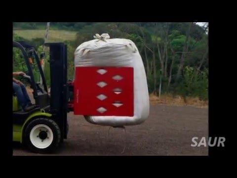 SAUR - Garra para Big Bag de erva mate