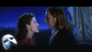 Raoul (Patrick Wilson) and Christine (Emmy Rossum) perform All I Ask of You in The Phantom of the Opera: The Film. Clip 22/37.
