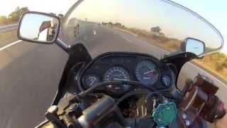 7. Kawasaki ZZR 600 - my other baby (260Km/h)