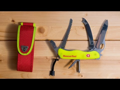 Victorinox Rescue Tool - Swiss Army Knife review