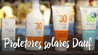 Protetores solares Dauf