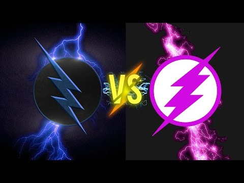 *EPIC* The FLASH VS The PINK FLASH ( THE RACE) - A SHORT FILM ⚡