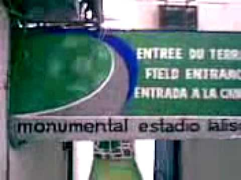 Vestidores del Estadio Jalisco
