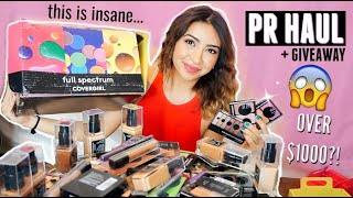 I GOT MY FIRST PR PACKAGE!!! You HAVE to see this... (UNBOXING & GIVEAWAY!)