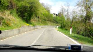 Fuipiano Valle Imagna Italy  City new picture : Driving uphill to Fuipiano Valle Imagna