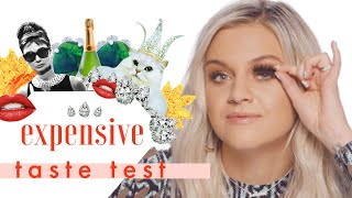 Kelsea Ballerini Eats Expensive Chicken Nuggets | Expensive Taste Test by Cosmopolitan