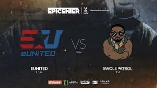 eUnited vs Swole Patrol - EPICENTER 2018 NA Quals - map1 - de_dust2 [Anishared]