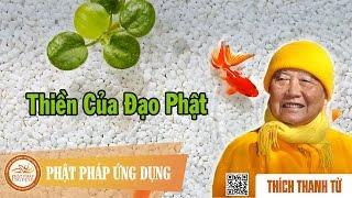 Thiền Của Đạo Phật - Thầy Thích Thanh Từ