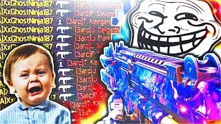 8 YEAR OLD TROLLED ON BLACK OPS 3 MULTIPLAYER... DARK MATTER MSMC GAMEPLAY!  GhostNinja Subscribe to Me!