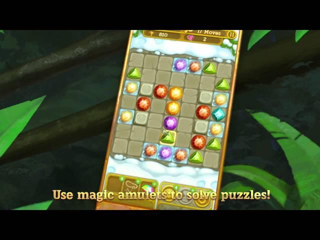 Gemcrafter: Puzzle Journey - Google Play Trailer