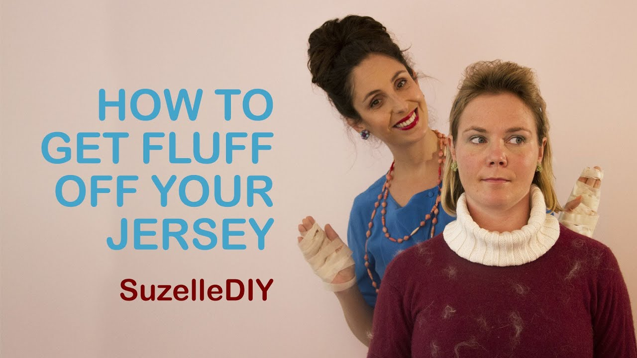 How to get Fluff off your Jersey-graphic