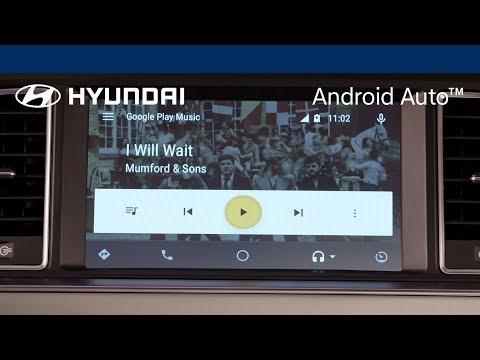 Hyundai Android Auto™ - Playing Music