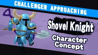 Challenger Approaching  10 – What would Shovel Knight be like in Smash?