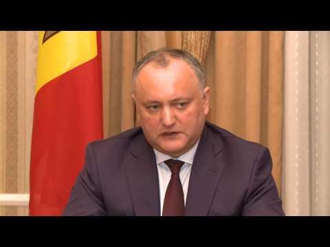 """Igor Dodon, Președintele Republicii Moldova a avut o întrevedere cu reprezentanţii Comitetului Național """"Victorie"""""""