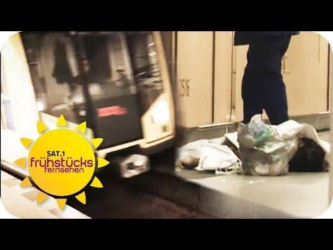 U8 - die gefährlichste U-Bahn-Linie Deutschlands?! | SAT.1 Frühstücksfernsehen