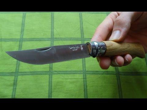 Opinel Messer Gr. 8 Eiche im Test !