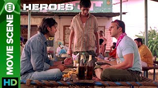 Click to watch full movie online :- http://erosnow.com/movie/watch/1000238/heroesSohail Khan and Vatsal Sheth Loves Beer and Tandoori they visited a Punjabi dhaba but unfortunately forget to carry cash. Film – HeroesMusic – Sajid-Wajid & Monty SharmaActor – Salman Khan, Sohail Khan, Mithun Chakraborty, Sunny Deol, Bobby Deol, Preity ZintaProduced by – Vikas Kapoor, Bharat ShahDirected by - Samir KarnikTo watch more log on to http://www.erosnow.com/For all the updates on our movies and more:https://twitter.com/#!/ErosNowhttps://www.facebook.com/ErosNowhttps://plus.google.com/+erosentertai...http://www.dailymotion.com/ErosNow