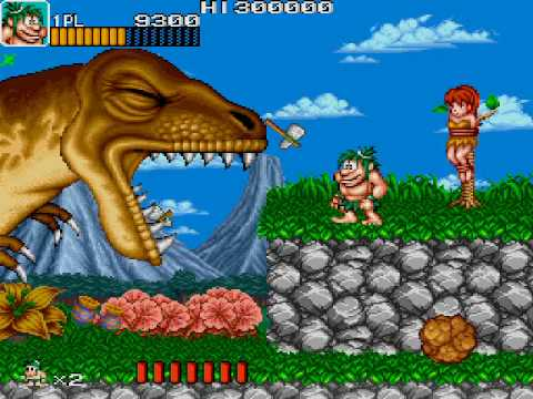 Save your Quarters... or Not!: Caveman Ninja (Arcade) Stage 1 or Joe & Mac (SNES) 1st Stage