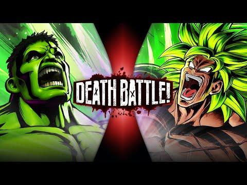 Hulk VS Broly (Marvel VS Dragon Ball) | DEATH BATTLE!