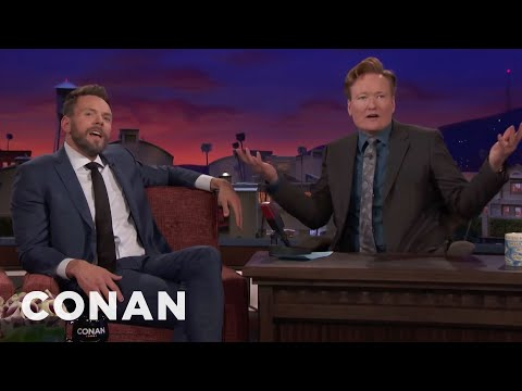 Joel McHale Is Bitter About Conan's Travel Shows  - CONAN on TBS