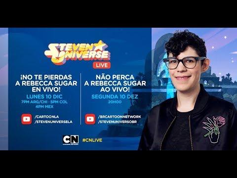 CN LIVE  Fan chat con la creadora de Steven Universe: Rebecca Sugar