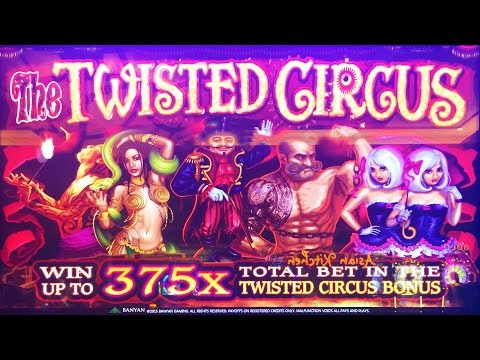 The Twisted Circus slot machine, DBG