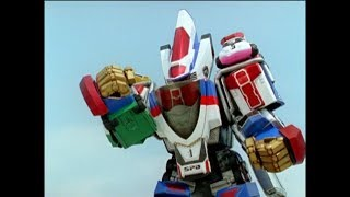 "Video Power Rangers S.P.D. - DeltaMax Megazord First Fight | Episode 23 ""Zapped"" MP3, 3GP, MP4, WEBM, AVI, FLV Maret 2019"
