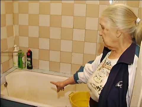 В кранах жителей дома на Новой Заре 10 дней течет очень ржавая вода