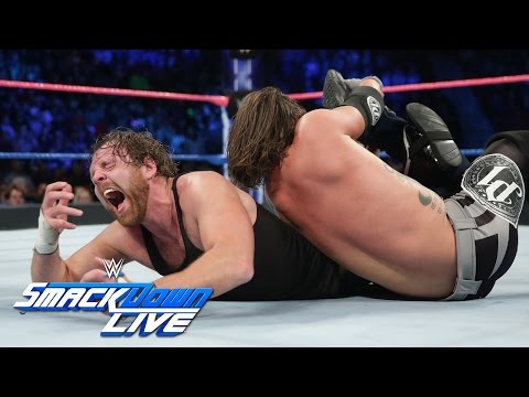 Download Dean Ambrose vs. AJ Styles - If Ambrose wins, he is No. 1 Contender: SmackDown LIVE, Oct. 25, 2016 HD Mp4 3GP Video and MP3