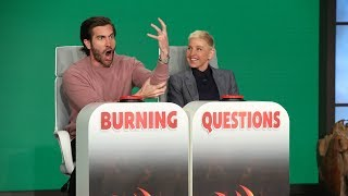 Video Jake Gyllenhaal Answers Ellen's 'Burning Questions' MP3, 3GP, MP4, WEBM, AVI, FLV Juli 2019