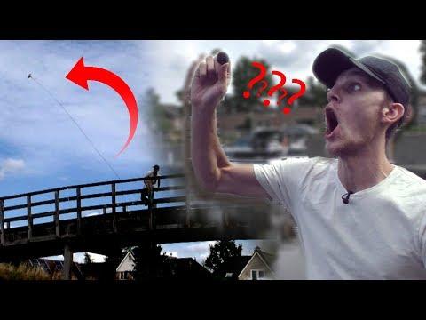 EERSTE KEER MAGNEETVISSEN! (видео)