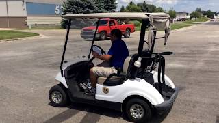 3. 2011 Yamaha YDRE Yamaha Drive Electric golf cart | For Sale | Online Auction
