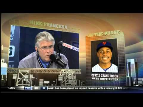 Video: Mike's On: Curtis Granderson on signing with the Mets